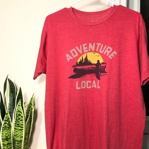 WOOLRICH | USA Adventure Local Red T Shirt L